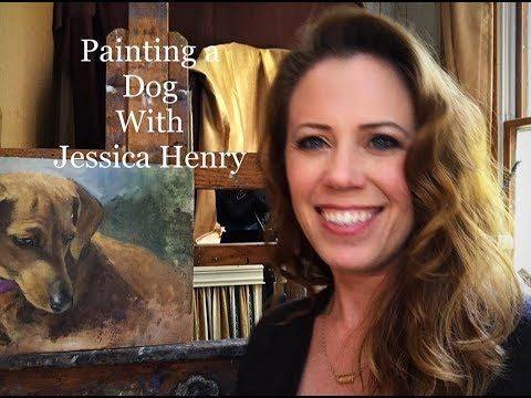 Plein Air Painting a Bridge Over Not-So Troubled Waters with Jessica Henry - YouTube