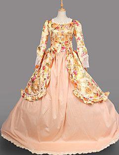 stampa vendita steampunk®hot broccato lolita vestito lungo Maria Antonietta abito ispirato wholesalelolita vestito da sera in stile rococò