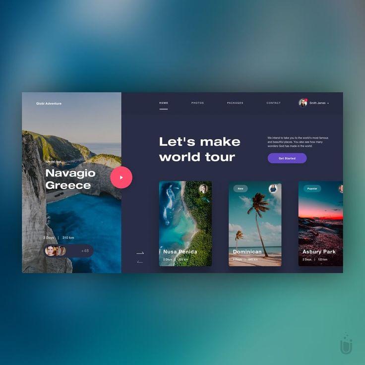 Globi Adventure – Design b  – Landing