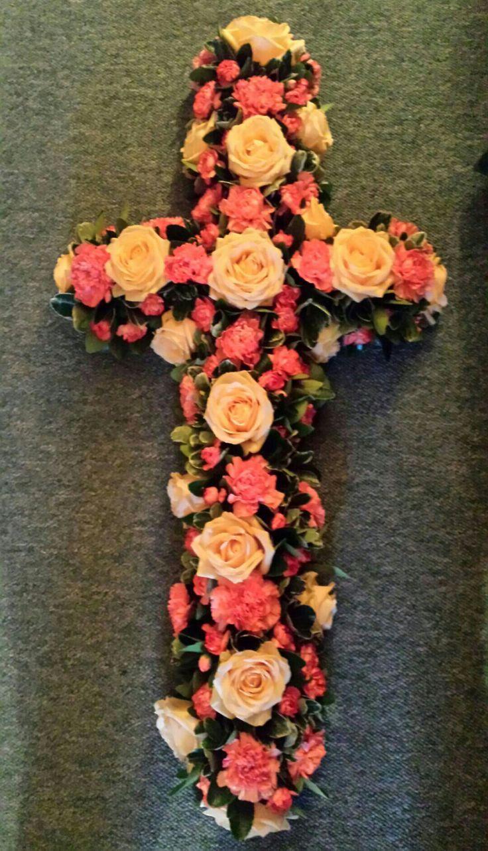 Gerbera & Rose Cross