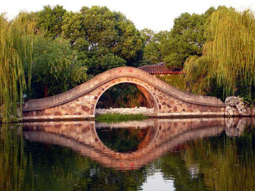 Moon Bridge, Wuxi, China    photo via besttravelphotos