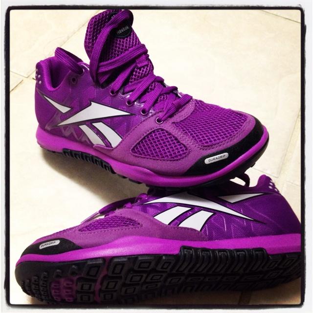 CrossFit Reebok Nano 2.0 purple!