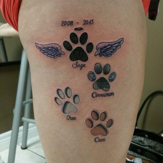 1000+ Ideas About Pet Tattoos On Pinterest