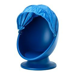 IKEA IKEA PS LÖMSK swivel armchair Spinning round helps the brain to sort sensory impressions.