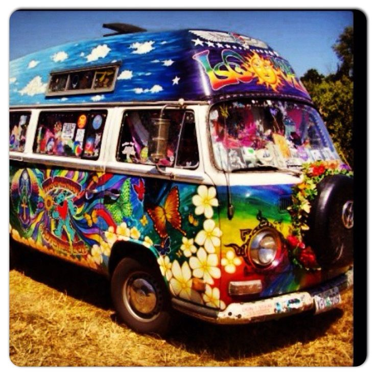 181 Best VW: Painted Bus