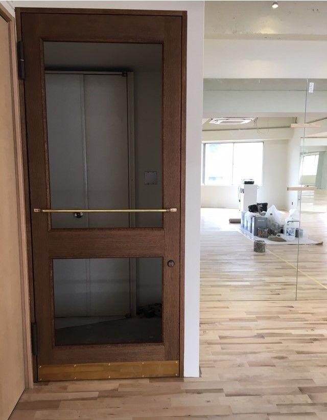 真鍮ドアハンドル Type1 ドアハンドル ドア リビングドア