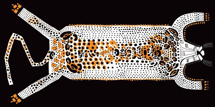 Basia Grzybowska illustrations – Onca from Manaus / jungle