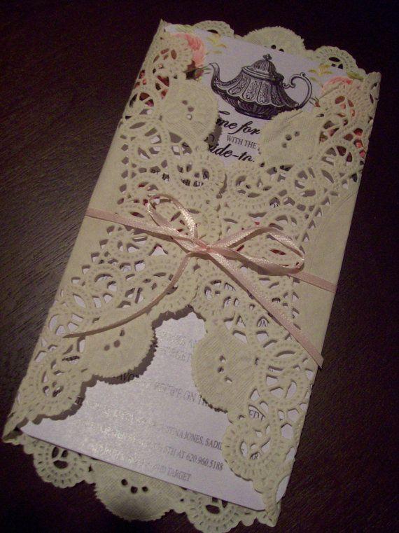 Best 20 Bridal tea invitations ideas – Bridal Party Invitation Ideas