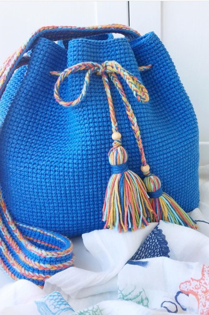 Crocheted Beach Bag- Amazing Beautiful Beach Bags! 35 Free Crochet Patterns New 2019 – Page 2 of 35