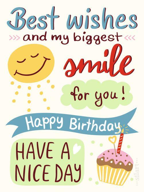 Birthday Smile Happy Geburtstagskarte Birthdaycard Illustration Lettering Print Printable Karten Cards Grafik Design Draw