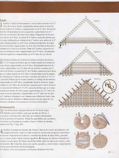 Tejidos y Telares: Mas telar triangular