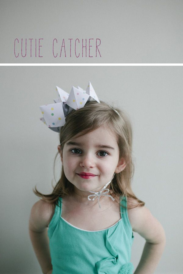 cutie catcher party hats