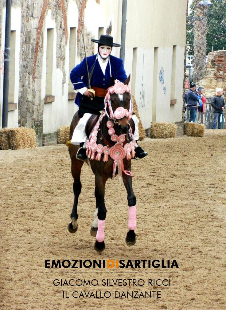 Il cavallo danzante - Giacomo Silvestro Ricci #sartiglia #emozionidisartiglia #oristano