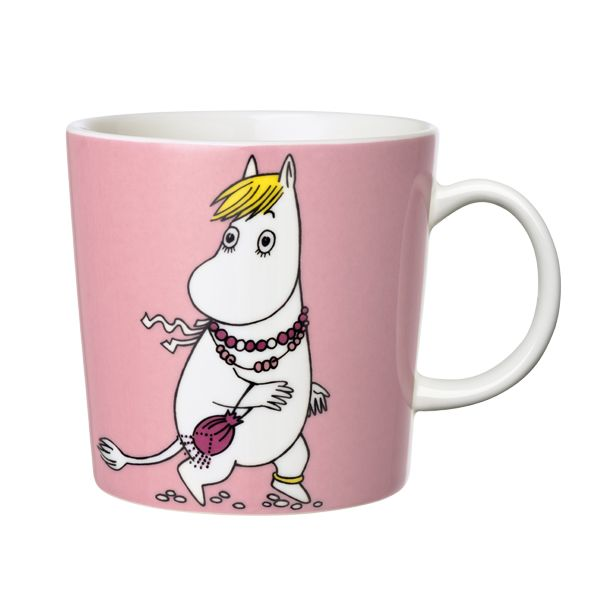 Snorkmaiden Moomin mug.