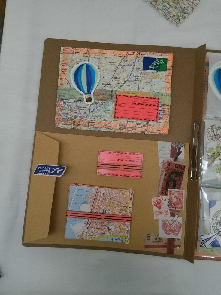 [Outgoing] inside postbook - binnenkant schrijfmap atlas