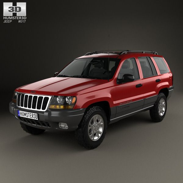 Jeep Grand Cherokee (WJ) 1998 3d Model From Humster3d.com