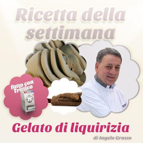 La #ricettadellasettimana: #gelato di #liquirizia a cura di #AngeloGrasso  INGREDIENTI: Latte fresco pastorizzato: 2704,3 gr. Latte in Polvere Magro: 150 gr. Panna 35 % materia grassa: 855,7 gr. Saccarosio: 550 gr. S.di glucosio disidratato 25 DE: 335 gr. Liquirizia il polvere: 150 gr. Zucchero invertito: 125 gr. Inulina: 150 gr. Base 50 creme: 150 gr.  Enjoy!