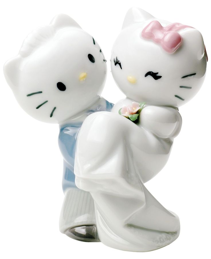 Nao By Lladro Collectible Figurine Hello Kitty Gets Married