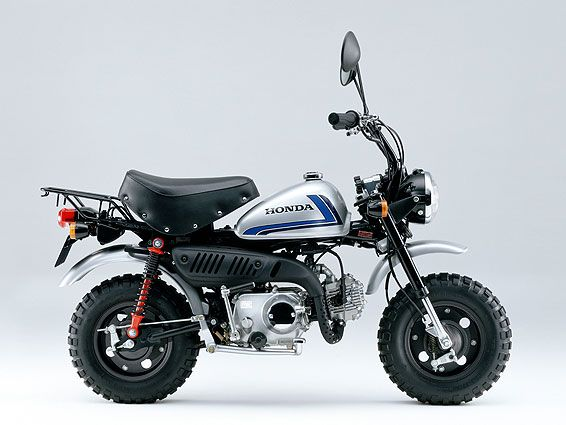 Honda injects fuel into Monkey bike, gets 252 mpg in return. 1967 Honda Monkey Z50.
