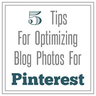A Typical English Home: How To Optimize Your Photos For Pinterest