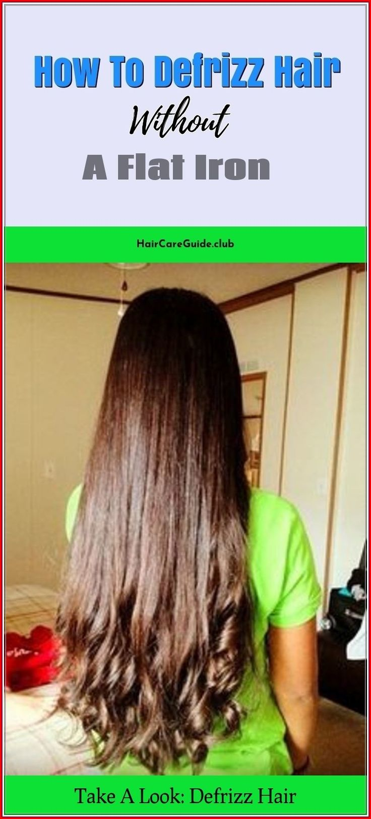 Brush your hair from the scalp down to the ends to…