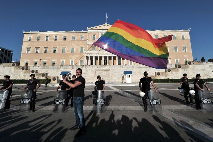 Greece values everyone no matter color or sexual orientation