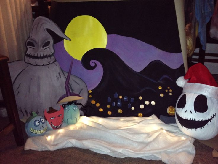 Trunk or treat nightmare before Christmas