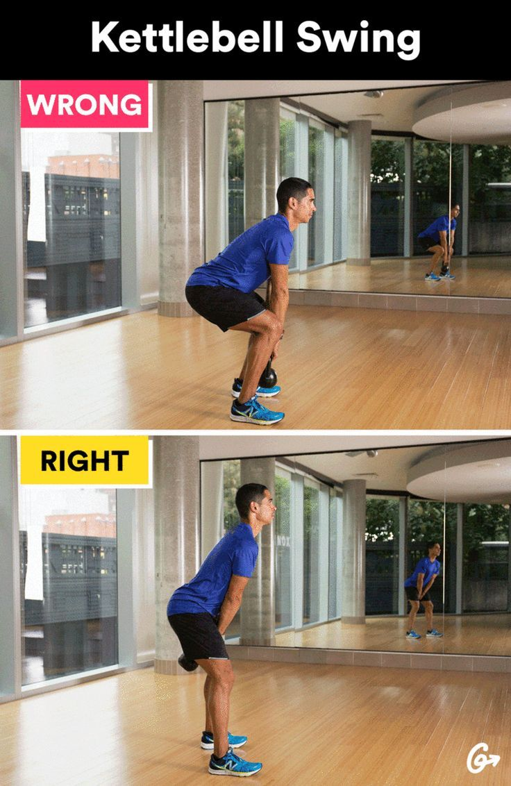 Fitness Tips  : Russian Kettlebell Swing  greatist.com/ #greatist