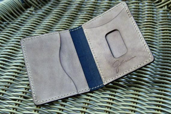 Check out this item in my Etsy shop https://www.etsy.com/nl/listing/399733305/minimalist-leather-wallet-cardholder