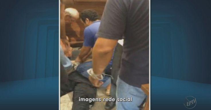 Suspeito de tentativa de assalto é imobilizado por populares; veja vídeo