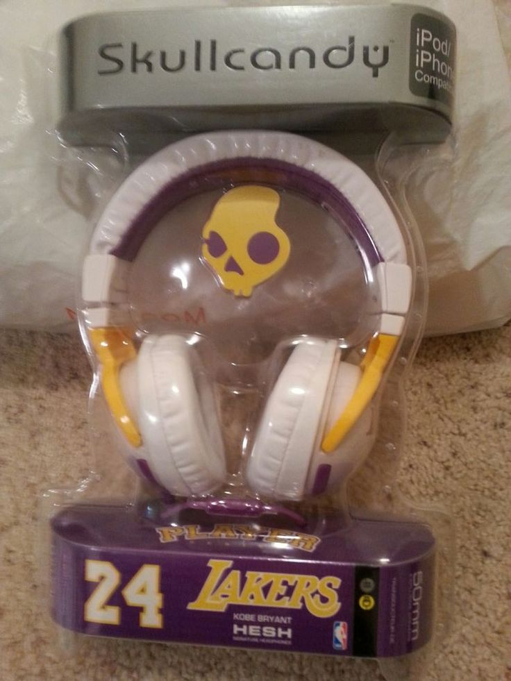 Los Angeles Lakers Kobe Bryant Skull Candy Head Phones from $29.99
