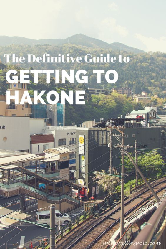 A definitive guide to getting to Hakone from Tokyo either by train or bus on a budget.