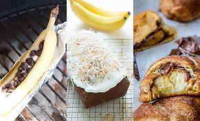 Vandaag is het Banana Day dus de perfecte dag voor lekkere bananen recepten. Wij zochten er negen voor je bij elkaar. Kijk je mee?