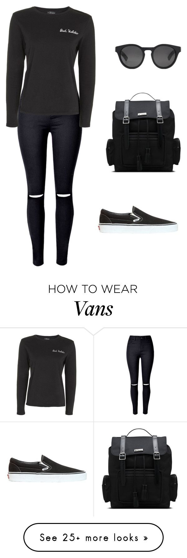 """""""Untitled #2218"""" by meli-g35 on Polyvore featuring Topshop, Vans, Ahlem and Dr. Martens"""
