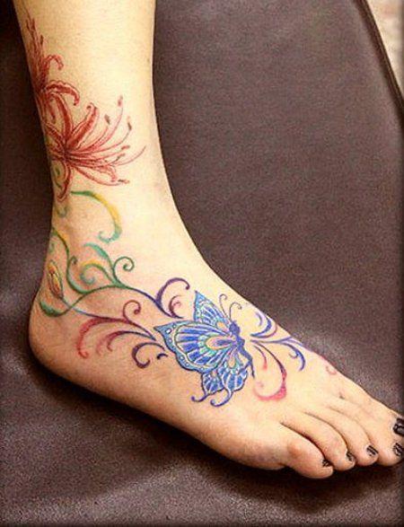 new tattoo ideas for women 2013 | Women New Stylish Tattoos Design 2013 Latest-Ankle-Tattoos-Art-Designs ...