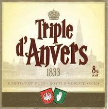 Triple d'Anvers - 8% - Brouwerij de Koninck - Mechelsesteenweg 291- Antwerpen