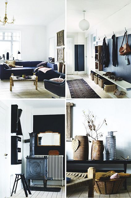 a danish home with lots of grey by the style files, via Flickr