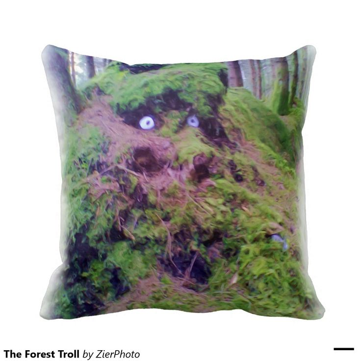 The Forest Troll Pillows