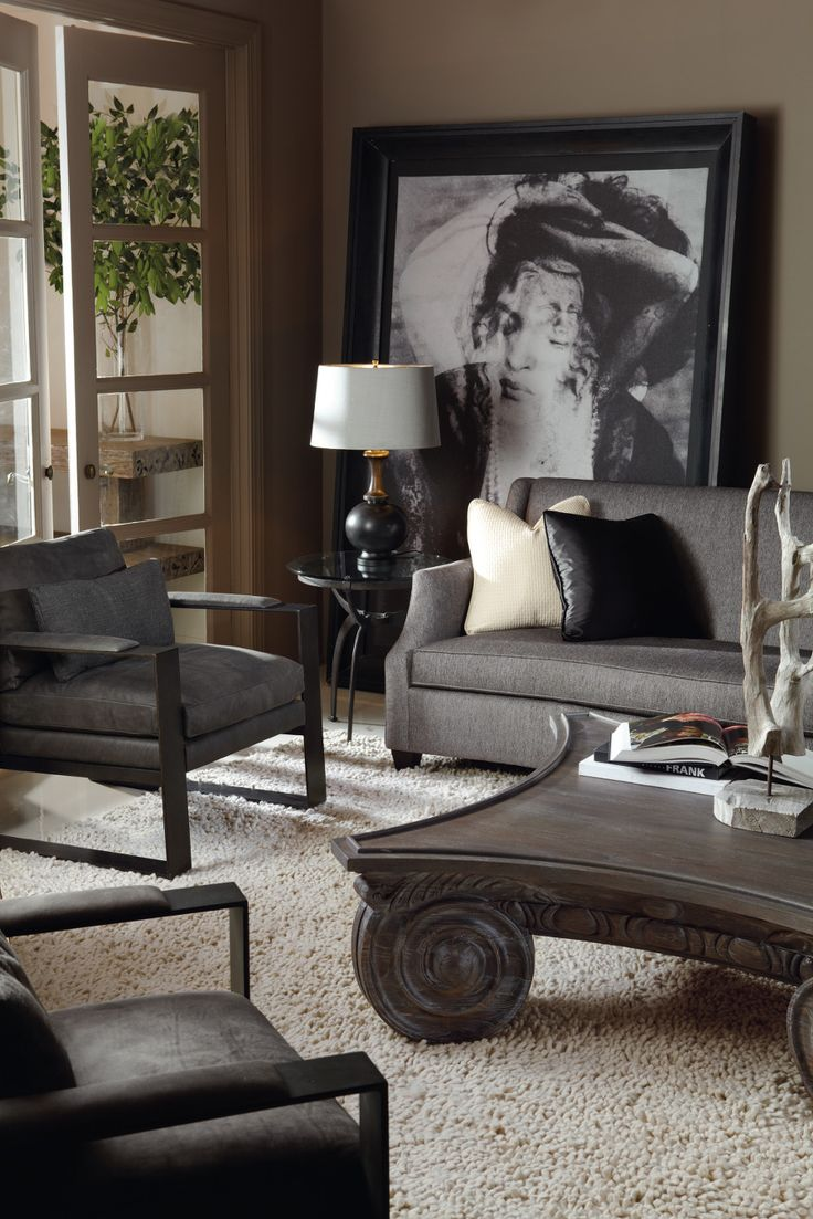 17 Best images about Bernhardt Interiors on Pinterest : Chair bed, Wood buffet and Furniture