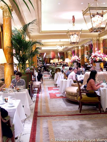 Dorchester Hotel - Afternoon Tea. Courtesy: London Tastin' - London Food Blog