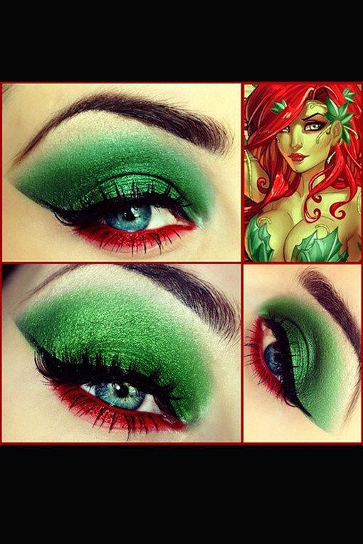Poison Ivy-Augen