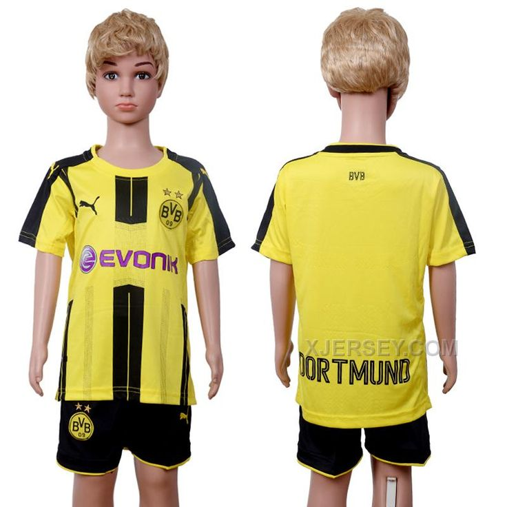 http://www.xjersey.com/201617-dortmund-home-youth-soccer-jersey.html 2016-17 DORTMUND HOME YOUTH SOCCER JERSEY Only $35.00 , Free Shipping!