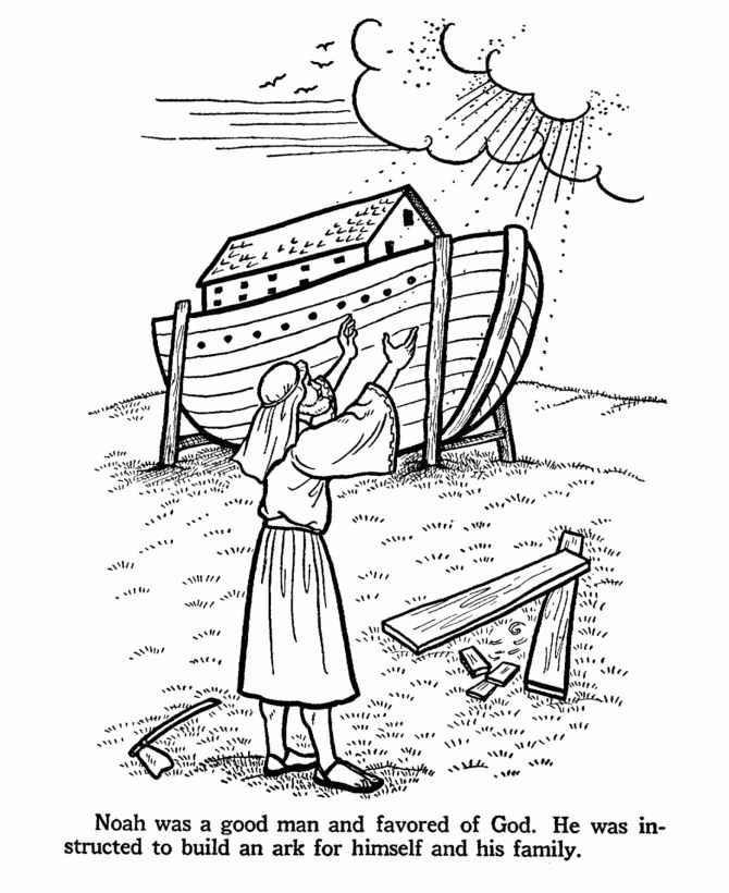 17 best images about bijbel noach voor kleuters bible for Noah ark coloring page
