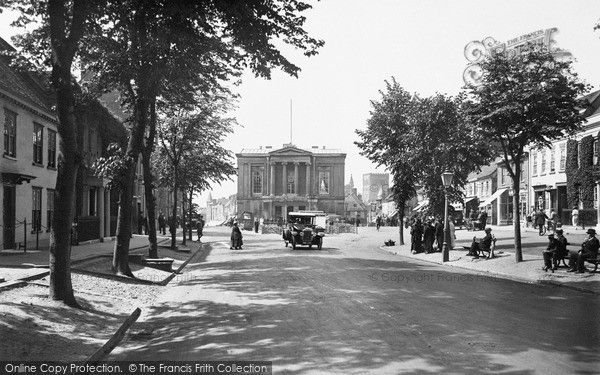 St   Albans, St Peter's Street 1921. © Copyright The Francis Frith Collection 2009.