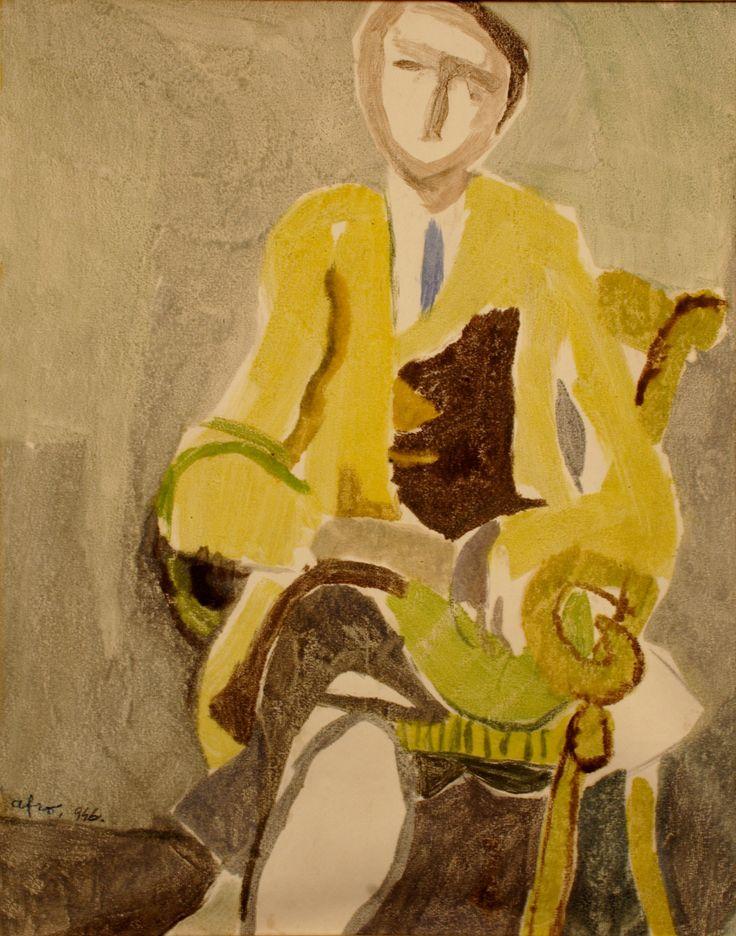 Uomo seduto, Afro (Oreste Basaldella)