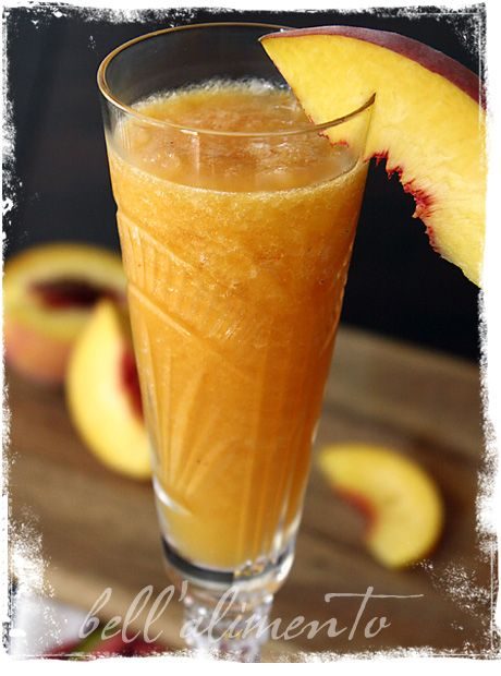 Peach Bellini | Recipe | Bellinis, Peach bellini recipe and Peach ...