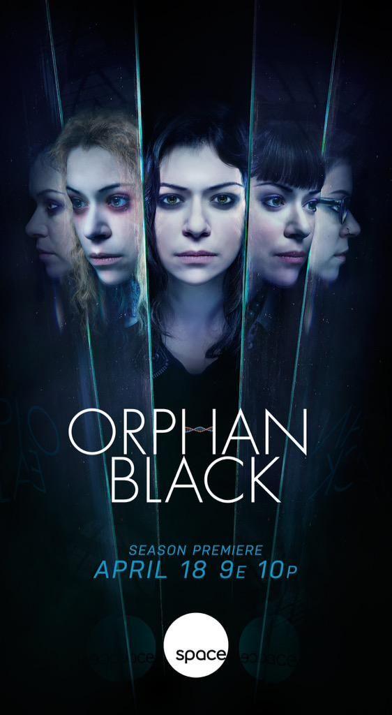 Orphan Black Season 3 Poster #orphanblack #OB #S3 #space # ... |Orphan Black Season 3 Poster