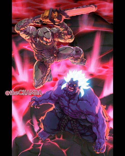 Doom Slayer vs Oni - Jeffrey Cruz