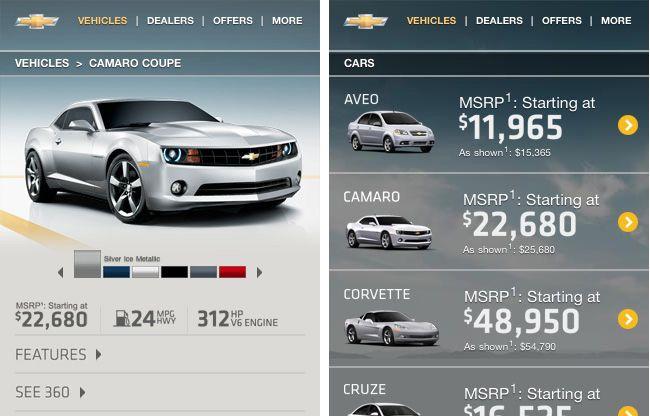 Subtle transparencies in mobile web design.