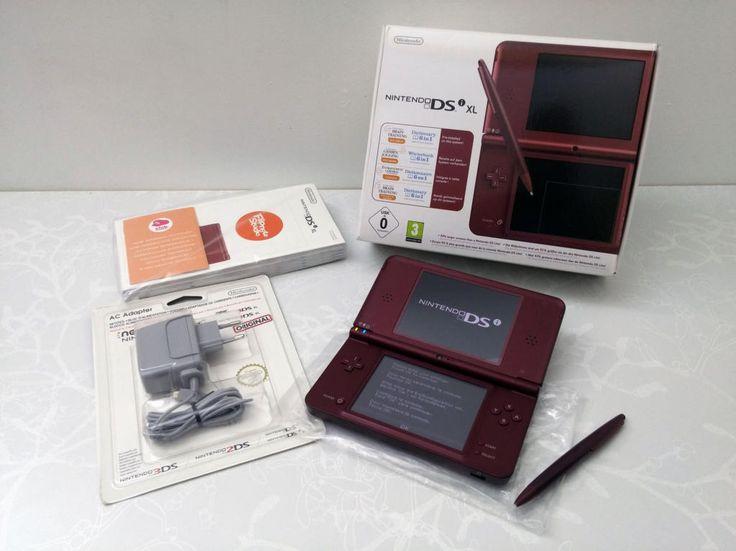 Console Nintendo DSi XL Bordeaux - DS - Acheter vendre sur Référence Gaming